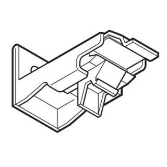 ネクスティ シングルブラケット ミディアムウッド 30個/小箱
