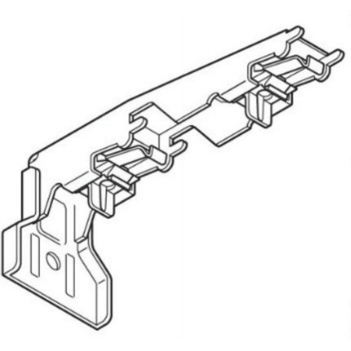 エリート LTダブルブラケット アッシュグレイン 20個/小箱
