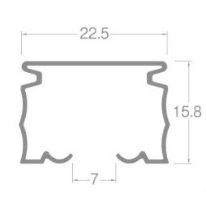 ニューデラック レール スチールアンバー 1.82m