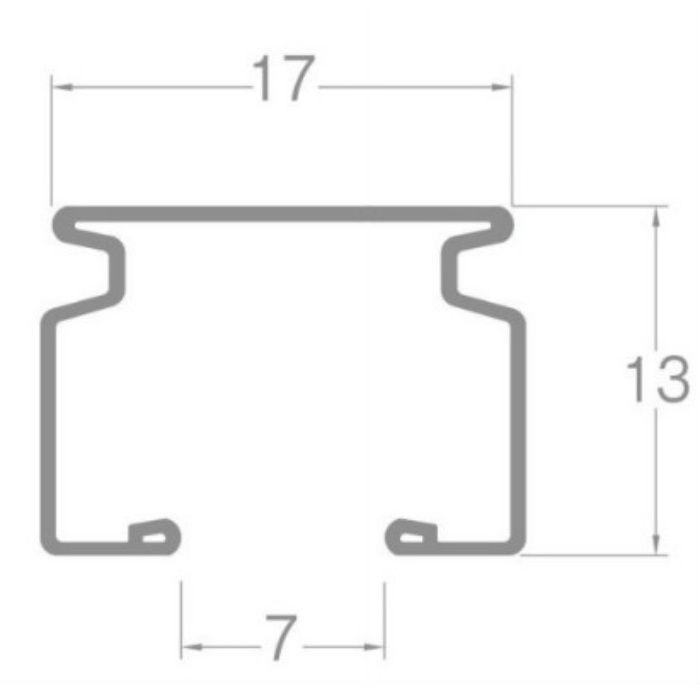 ウィンピア カーブレール ホワイトウッド 180R 0.40m×0.40m