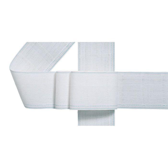 プリーツテープ 50mm ホワイト 100M/巻