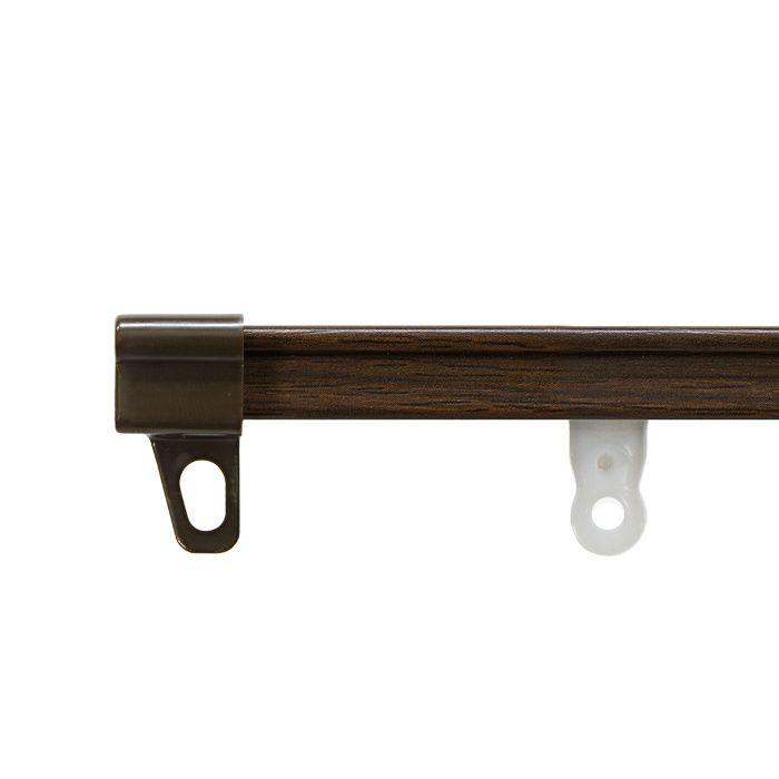 AJ606木目 セット ウッディダーク ダブル2.00m 【セット品】