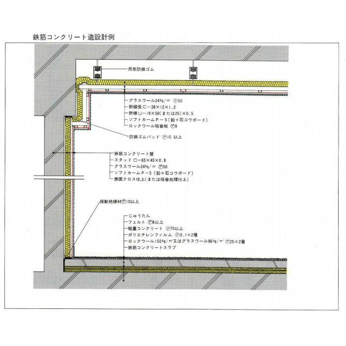 鉛複合板 鉛0.5mm+ラワンベニヤ4.0mm厚 ソフトカ-ム 3×6板 P-3