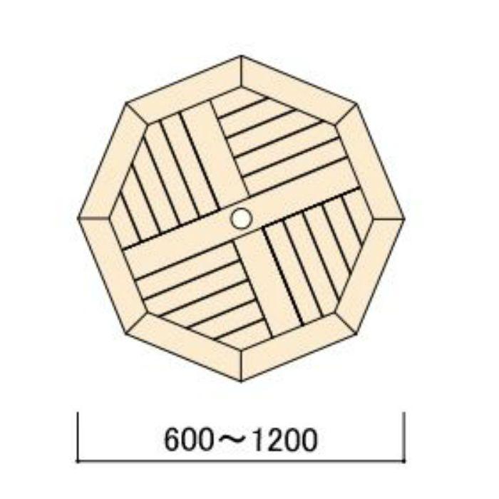 コンビネーションテーブル 八角形天板0808