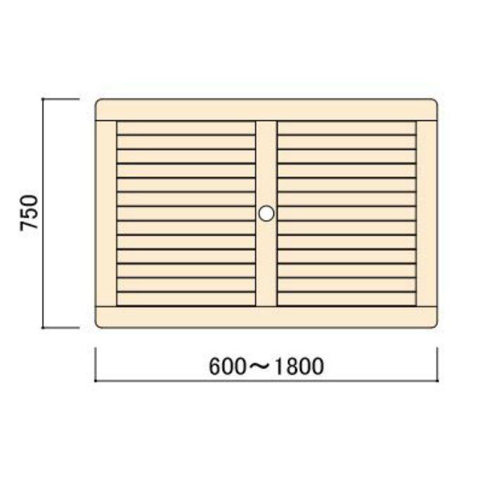 コンビネーションテーブル 長方形天板1007