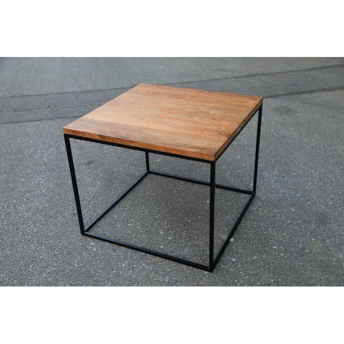アイアンウッドキューブテーブル
