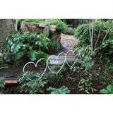 花壇フェンス ハート型