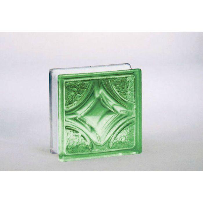 ガラスブロック ヴェスタ95 グリーン 6個/ケース