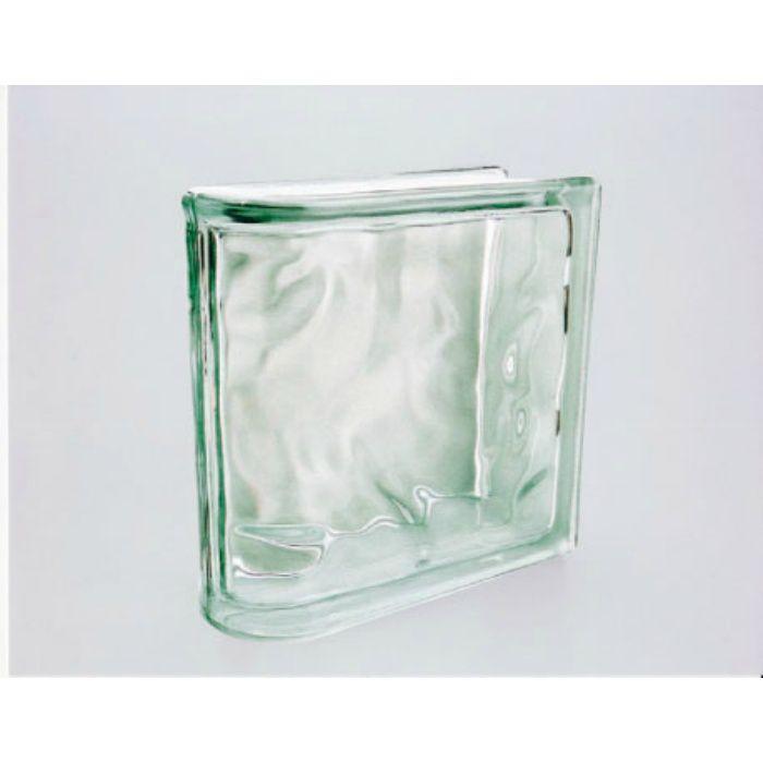 ガラスブロック エンド ウェーブ80 無色 6個/ケース
