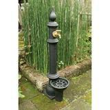 鋳鉄立水栓 Aタイプ (給排水管付)