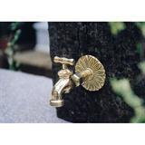スタンダード蛇口 2型 真鍮色