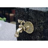 スタンダード蛇口 4型 真鍮色