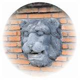 壁泉 ライオン フェイス