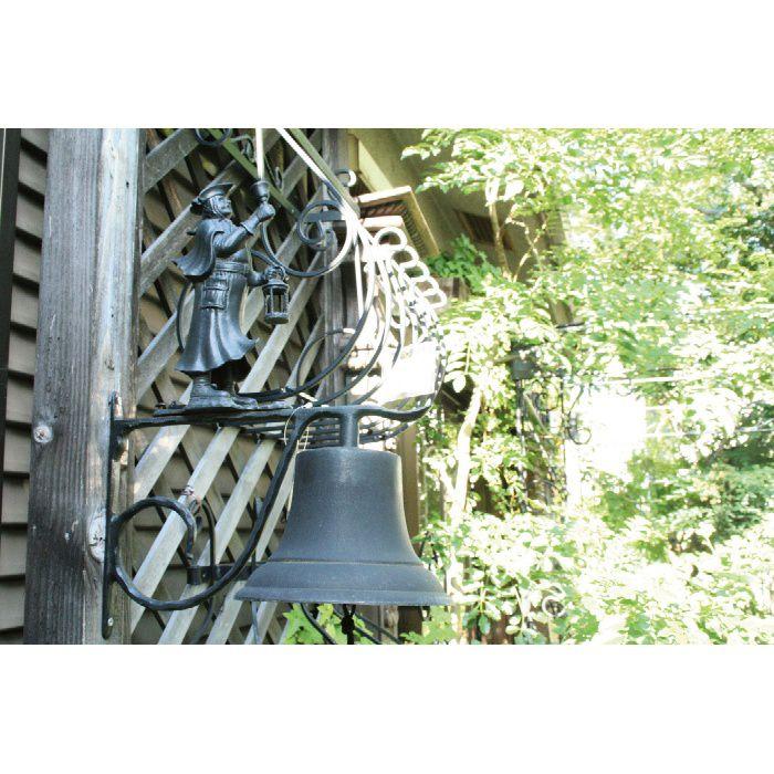 玄関ベルLBB型 オーナメント黒 【装飾小物】