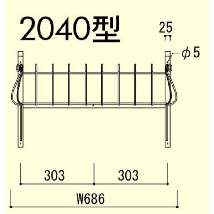 フラワーバルコニー N-10-2040型