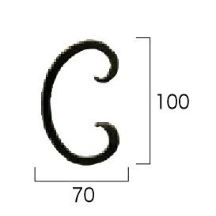 カーブ10 【装飾パーツ】 6個/セット