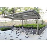 自転車置場サイクルロビー 基準型スチール 間口2550