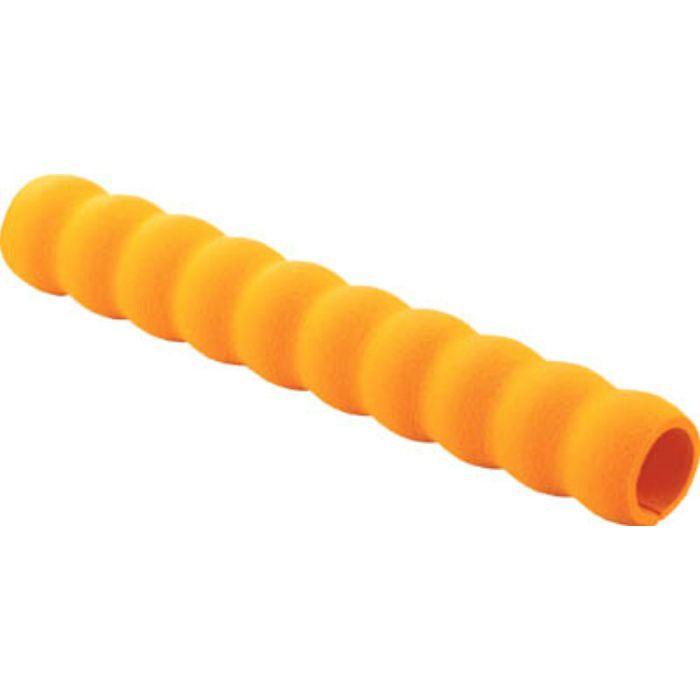 小型樹脂台車こまわり君用グリップ 内径約22X250 オレンジ 3609880