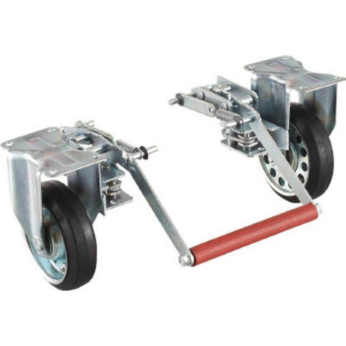 ドンキーカート 500番用ブレーキ空気入固定車輪付 4145551