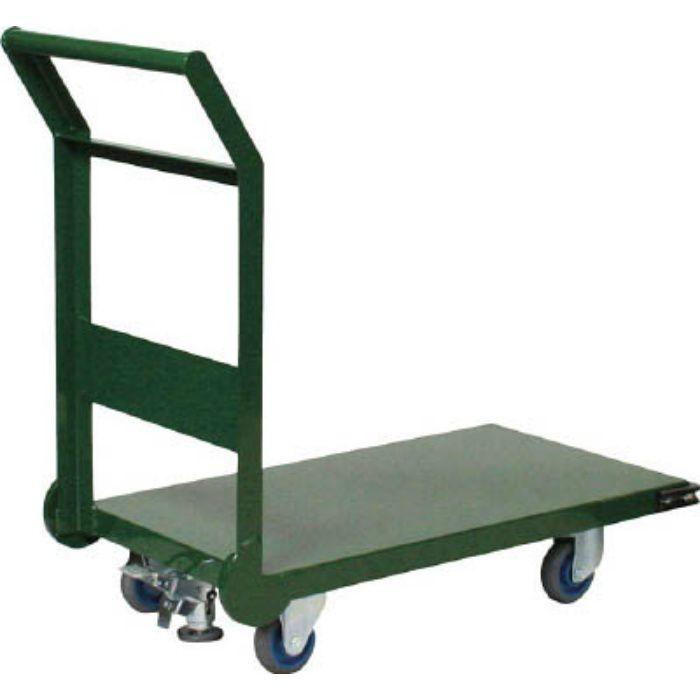 鋼鉄製運搬車 1200X600 Φ150エアキャスター LS付 7726392