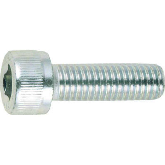 CSW0825 六角穴付ボルト三価白M8×25 (100本入)