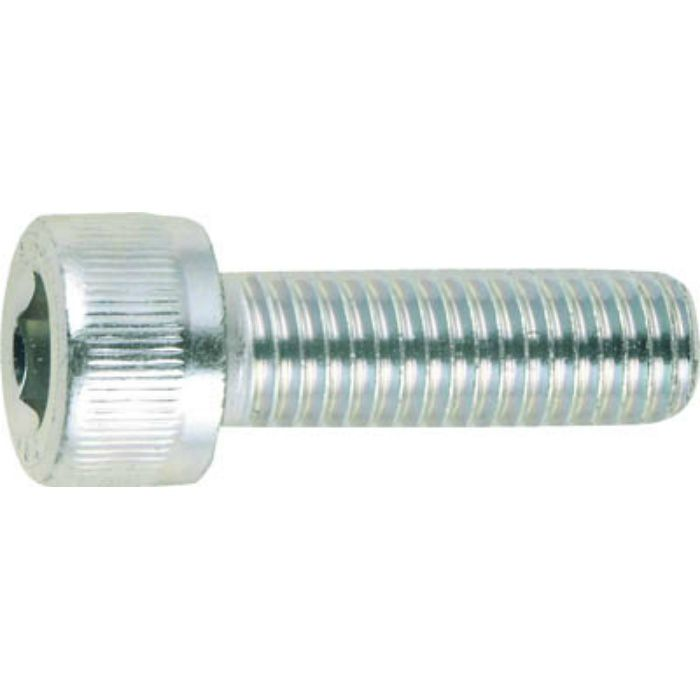 CSW0830 六角穴付ボルト三価白M8×30 (100本入)