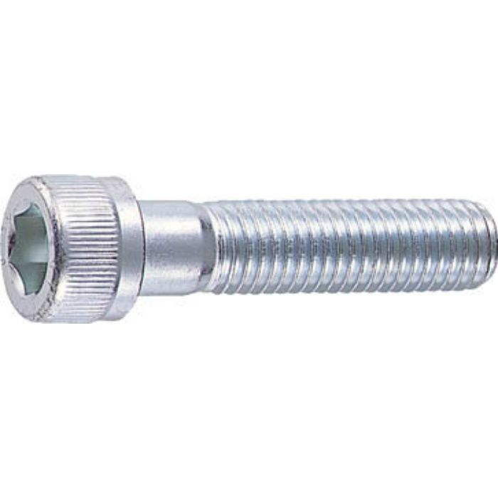 B620650 六角穴付ボルトユニクロ 半ネジ サイズM6X50 21本入