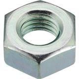 六角ナット1種 三価白 サイズM20X2.5 2個入 B7240020 2858100