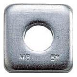 テーパーワッシャー ユニクロム サイズM6(1/4) 18個入 B550006 1609106