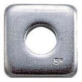 テーパーワッシャー ユニクロム サイズM8(5/16) 18個入 B550008 1609114