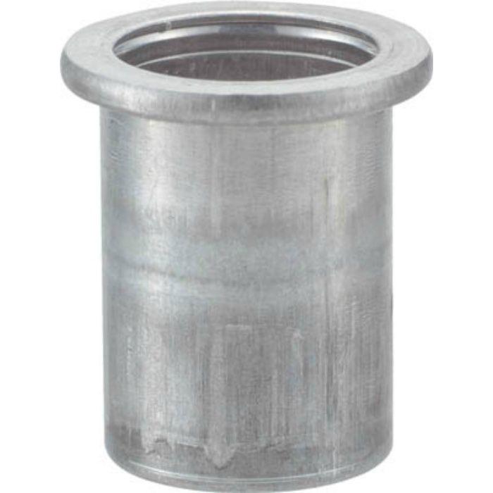 TBN6M25A クリンプナット平頭アルミ 板厚2.5 M6X1.0 (23個入)