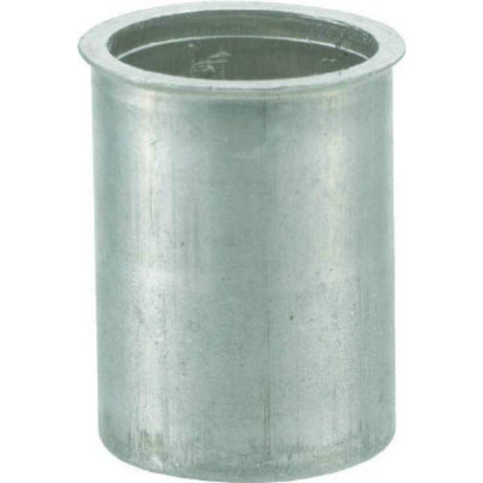 TBNF10M25AC クリンプナット薄頭アルミ 板厚2.5 M10X1.5 500個入