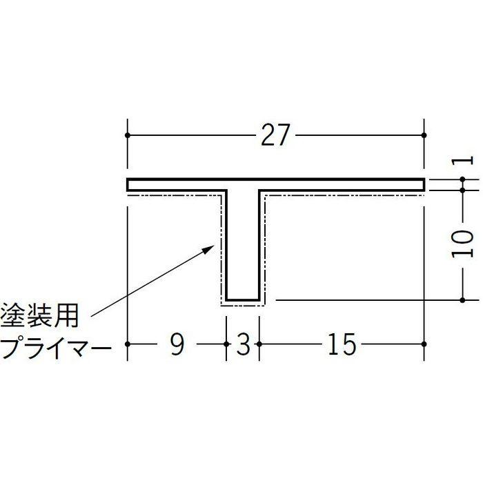 ペンキ用Tバー TP-10 ホワイト 1.82m 34228