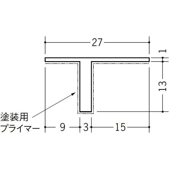 ペンキ用Tバー TP-13 ホワイト 1.82m 34229