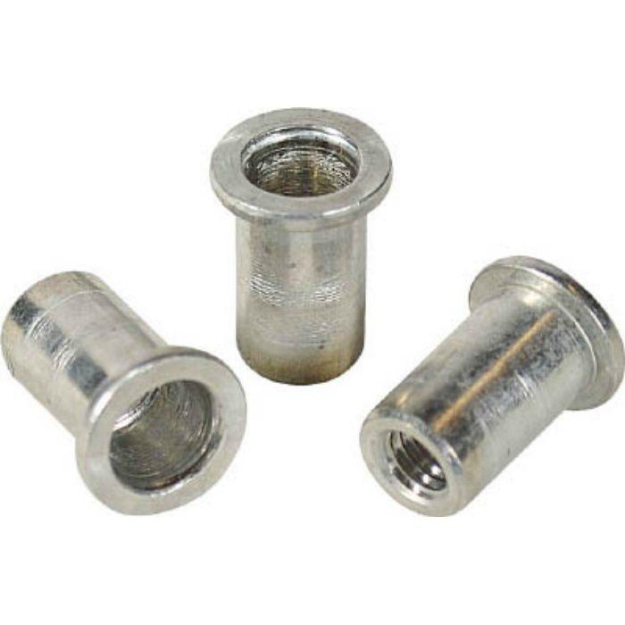 NAD4P パック入りナット(50本入) Dタイプ アルミニウム 4-2.0
