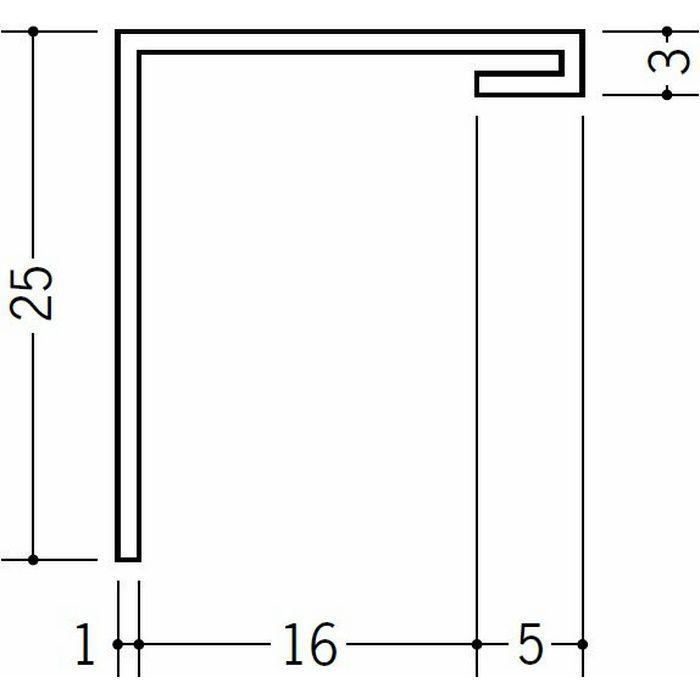 間仕切見切 ビニール 見切 HKT-15S ホワイト 1.82m  33176