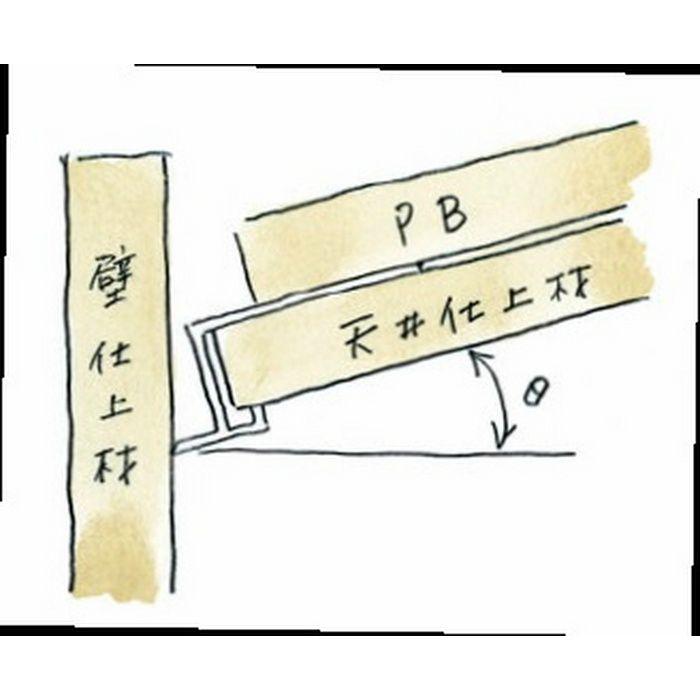 勾配見切 ビニール 勾配見切 SLP-12.5 ホワイト 1.82m  33075
