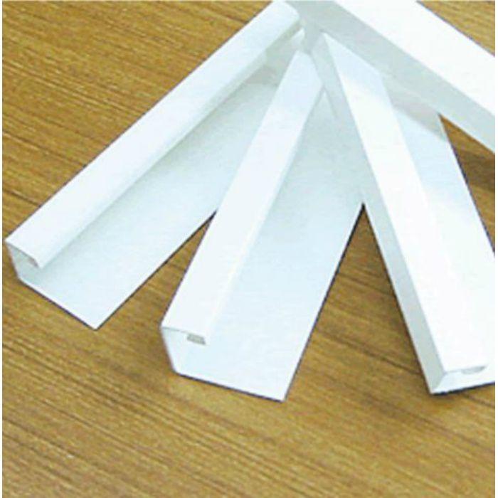塩ビ天井見切縁 T見切(白) 丸型ジョイント付 T-12.5号(12.5mm用)