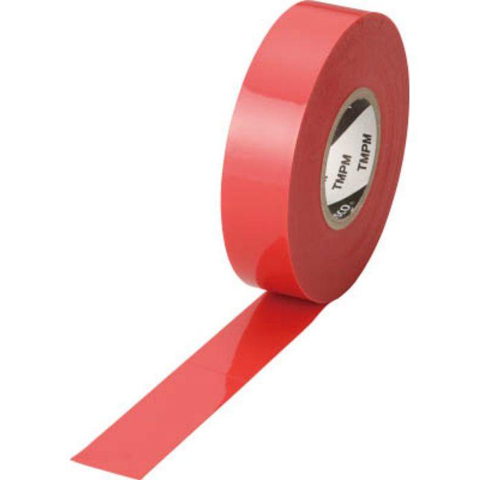 TMPM1920R プレミアムビニールテープ 19mmX20m 赤
