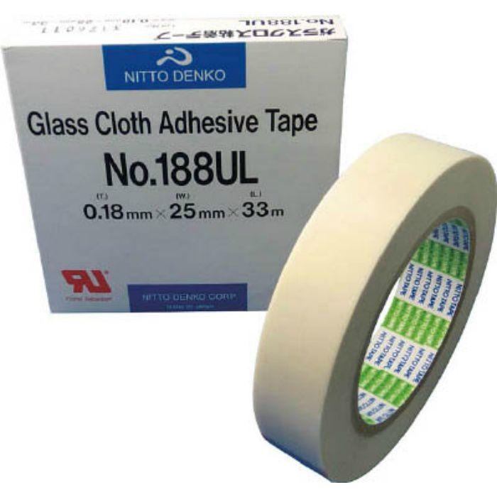 ガラスクロス粘着テープ NO.188UL 19mmX33m
