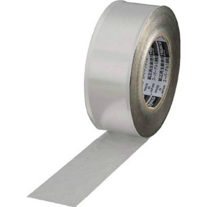 TRAT1002 スーパーアルミ箔粘着テープ 100mm×50m ツヤなし