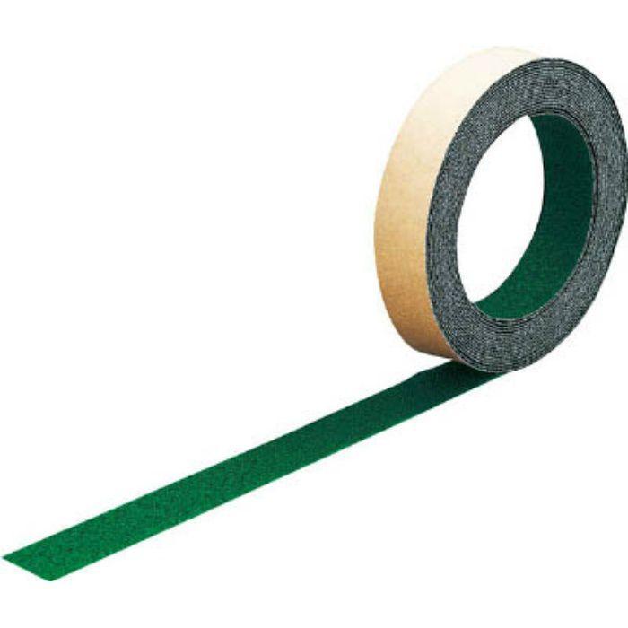 TNS25 ノンスリップテープ 屋外用 25mmX5m 緑