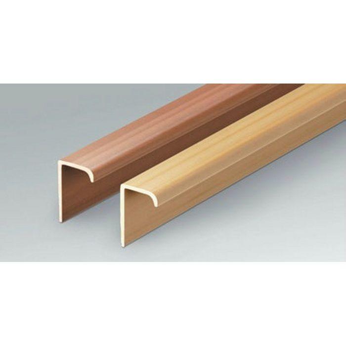 サッシ見切 床見切 ビニール やせがくし見切15×9 木目調濃色 1.82m  35240-2