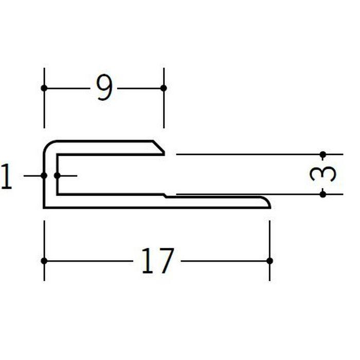コ型ジョイナー ビニール GC-3 ホワイト 1.82m  35051-1