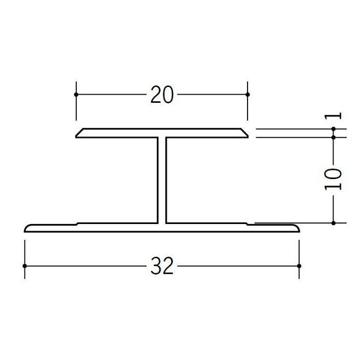 H型ジョイナー ビニール HTX-10 ホワイト 2.73m  35143