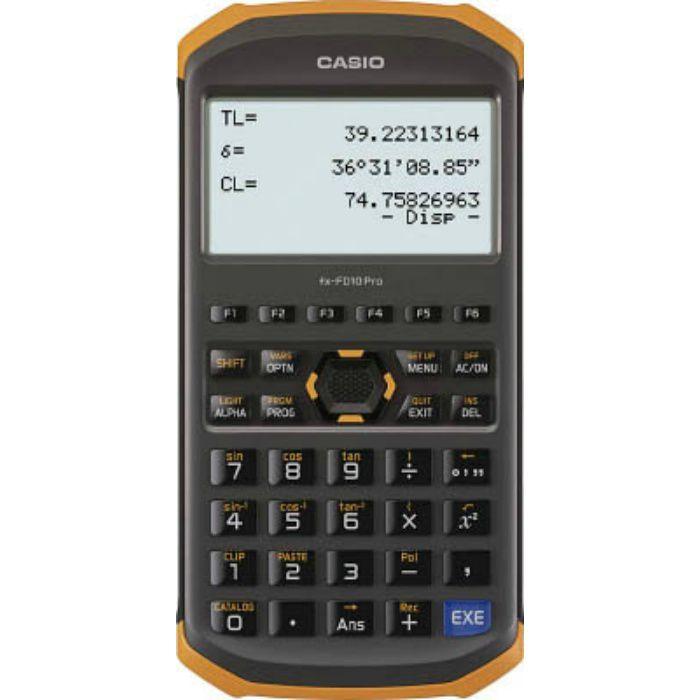関数電卓 FXFD10PRO
