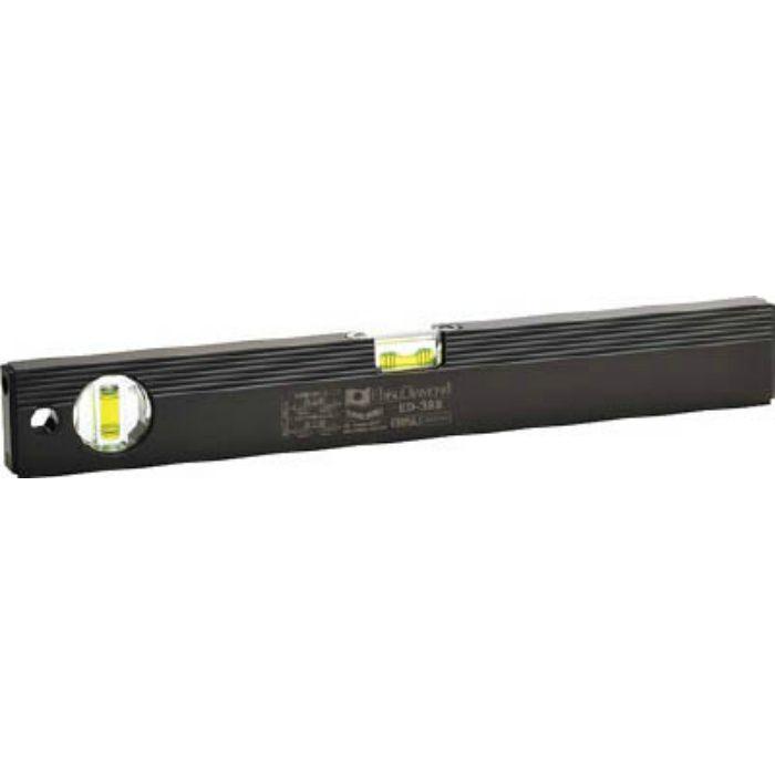 ベーシックレベルブラック 380mm ブラック/グリーン ED38B