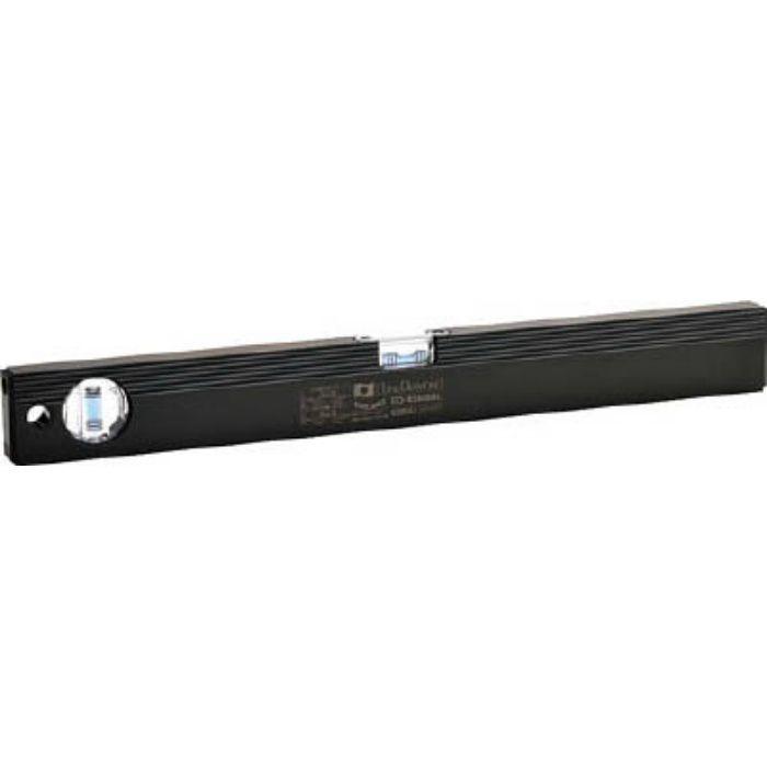 磁石付ベーシックレベルブラック 450mm ブラック/ブルー ED45MBBL