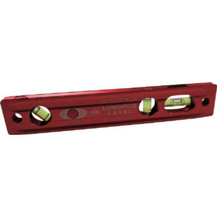 LED付アルミ水平器 ルミナスレベル LTM