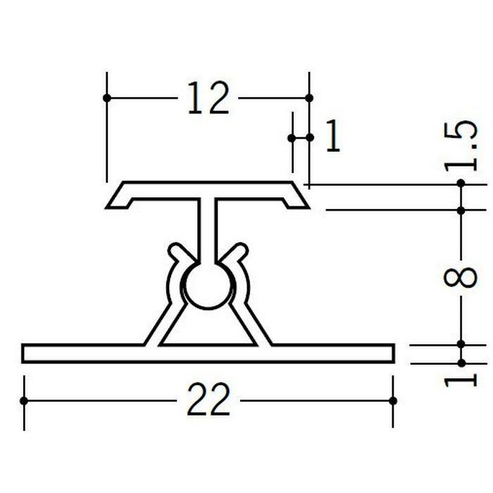 カンゴウジョイナー H型・コ型 ビニール カンゴウジョイナーKH-8 ホワイト 2.5m  31202